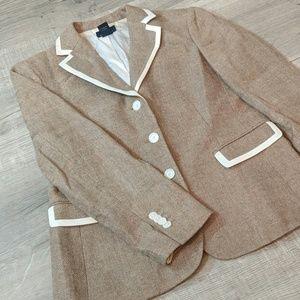 Women's size 10  346 Brooks Brothers blazer jacket
